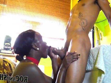 Анальная Ебля Худой парнишка отмандалил в сраку жопастую негритянку секс видео бесплатно