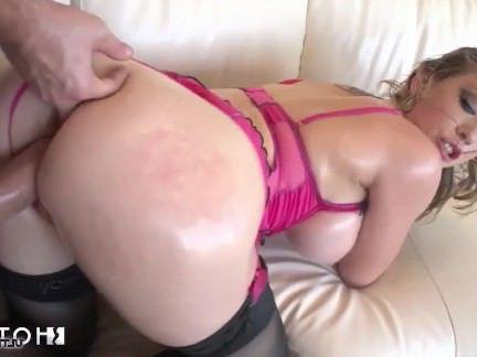 Анальная Ебля Жопастую порно звезду с большими сиськами мужлан жестко наябывает в зад секс видео бесплатно
