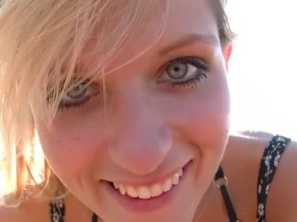 Анальный Трах Сексуальная блондинка уселась попой на член в национальном парке секс видео бесплатно