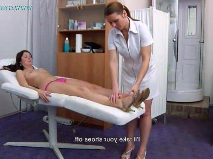 Порно Анал Красивая докторша осмотрела девоньку и вставила ей в попочку градусник секс видео бесплатно